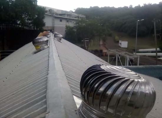 Installation of Air Cyclones